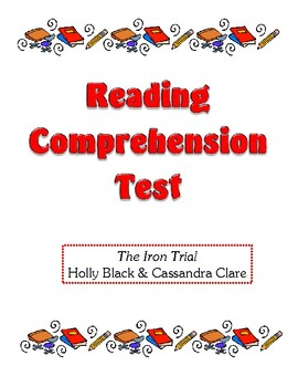 Comprehension Test - The Iron Trial (Black/Clare)