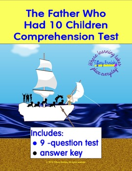 The Father Who Had 10 Children Comprehension Test