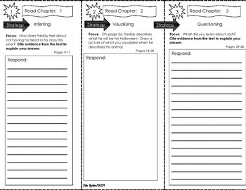 Comprehension Tri-Fold - Ready Freddy! Second Grade Rules,