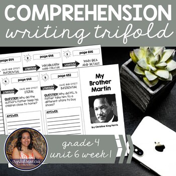 Comprehension Trifold - My Brother Martin