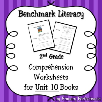 Comprehension Worksheets for Benchmark Literacy - Grade 2,