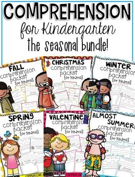 Comprehension for Kindergarten {The Seasonal BUNDLE!}
