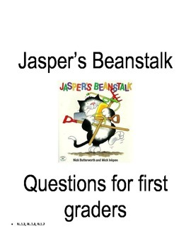 Comprehension questions for Jasper's Beanstalk