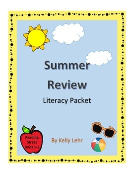 Comprehensive End of the Year or Summer Review Literacy Pa