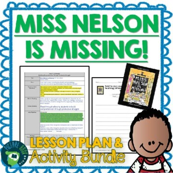 Miss Nelson is Missing 4-5 Day Lesson Plan