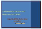 Comprehensive Physics: Heat energy and Gas theory Question