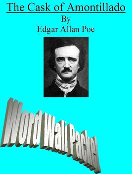 The Cask of Amontillado :Comprehensive Word Wall Packet
