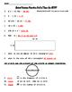 #1 Computation, Area, Perimeter, Data Analysis, Probabilit