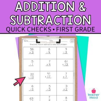 Computation Assessment Addition Subtraction {RTI Progress