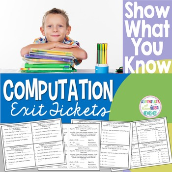 Computation Exit Tickets