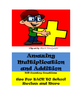 Multiplication and Addition Games:  (Amazing Multiplicatio