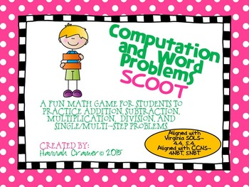Computation and Word Problems SCOOT