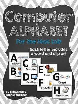 Computer Alphabet for the Mac Lab