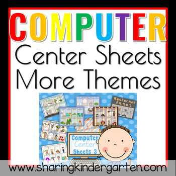 Computer Center Sheets 3 {More Themes}