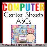 Computer Center Sheets {ABCs}