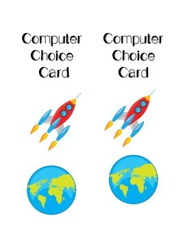 Computer Choice Cards