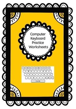 Computer Keyboard Practice Worksheets