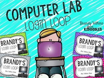 Computer Lab Login Loops {Editable}
