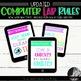 ipad style lab Rules, Subway Art, Technology Rules, Subway