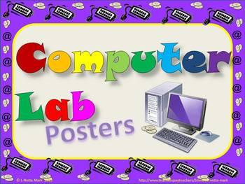Computer Posters - Multicolor