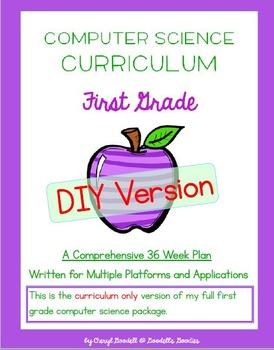 Computer Science Curriculum - First Grade - DIY Version (M