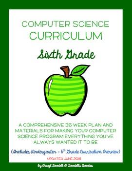 Computer Science Curriculum - Sixth Grade