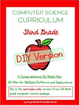 Computer Science Curriculum - Third Grade - DIY Version (M