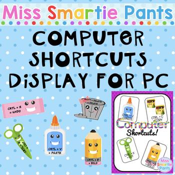 #AUSBTS17 Computer Shortcuts Display