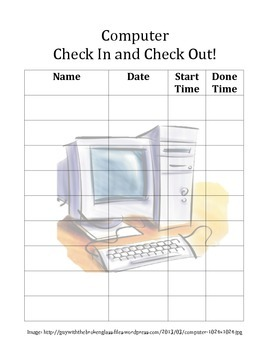 Computer Sign In