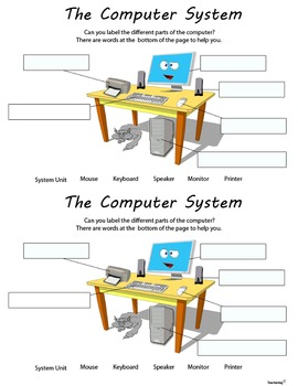 Computer System Unlabeled