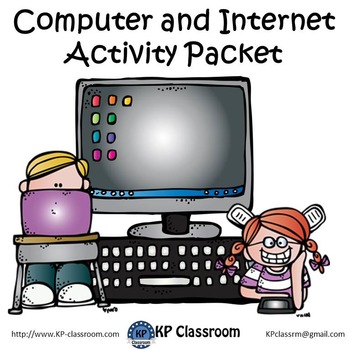 Computer and Internet Activity Packet / Worksheets