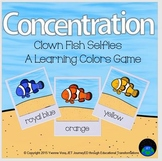Concentration Clown Fish Learning Colors