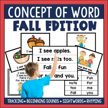 Concept of Word: Fall Edition