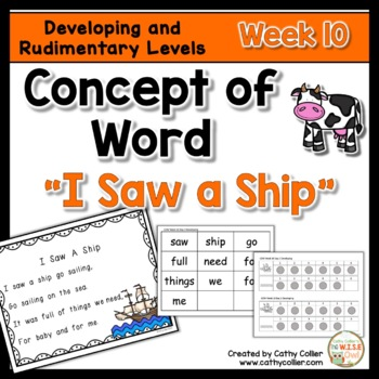 Concept of Word Intervention:  Week 10
