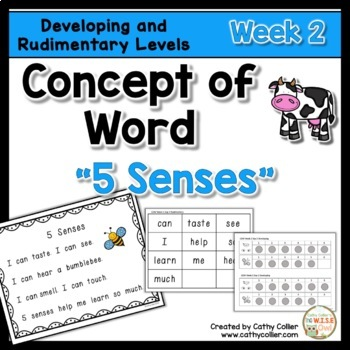 Concept of Word Intervention:  Week 2
