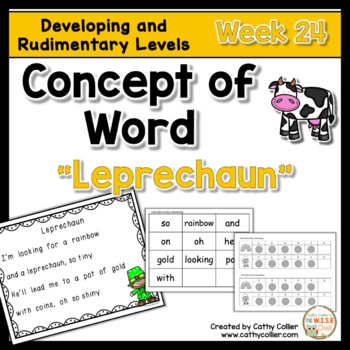 Concept of Word Intervention:  Week 23