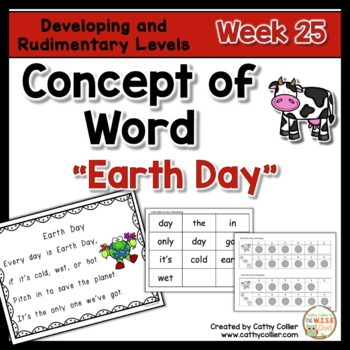 Concept of Word Intervention:  Week 25
