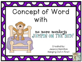 Concept of Word with Nursery Rhymes - No More Monkeys Jump