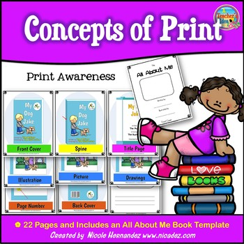 Concepts of Print - {Print Awareness}