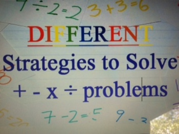Common Core Different Strategies to Solve Problems: For Pa