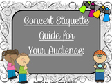 Concert Etiquette (PPT Edition) - A Guide & Slide Show For