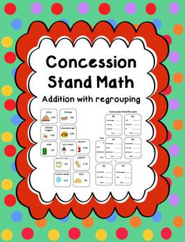 Concession Stand Math Center