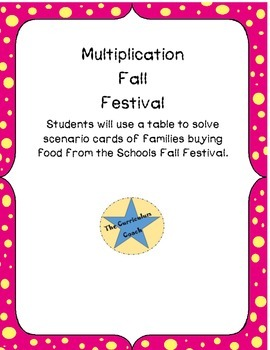 Concession Stand Multiplication