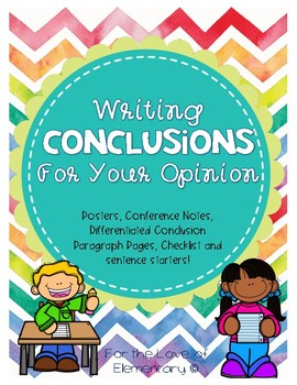 Conclusion for Opinion Writing