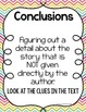 Conclusions, Generalizations, Inferencing