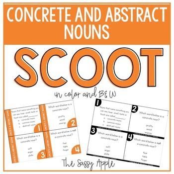 Concrete and Abstract Nouns Scoot