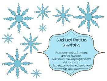Conditional Direction Snowflakes
