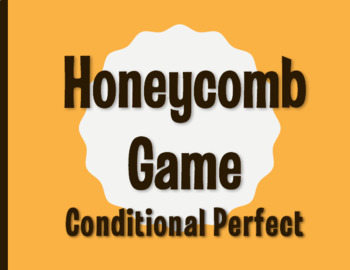 Spanish Conditional Perfect Honeycomb Partner Game