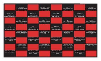 Conditional Sentences Type 3 Checker Board Game