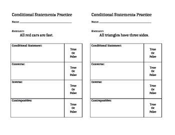 Conditional Statements Simultaneous RoundTable